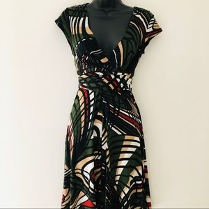 Ruby Rox Green Fit and Flare Dress Size Small
